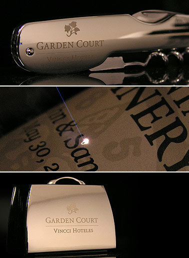 Custom Laser Engraving Examples for Promotional Use