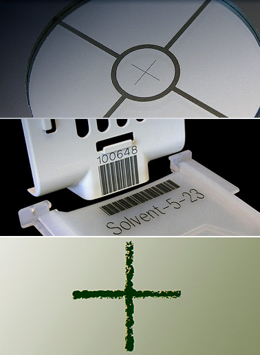 Laser Marking Electronics Components Semiconductor Wafers
