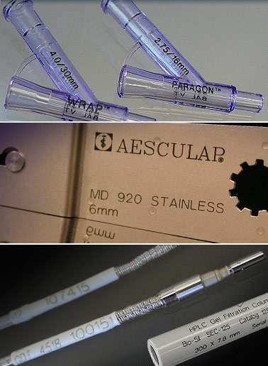 Laser Marking Medical Components